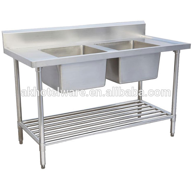 australia hotel kitchen sink commercial stainless steel double industrial kitchen sink working prep table fish cleaning table buy commercial kitchen