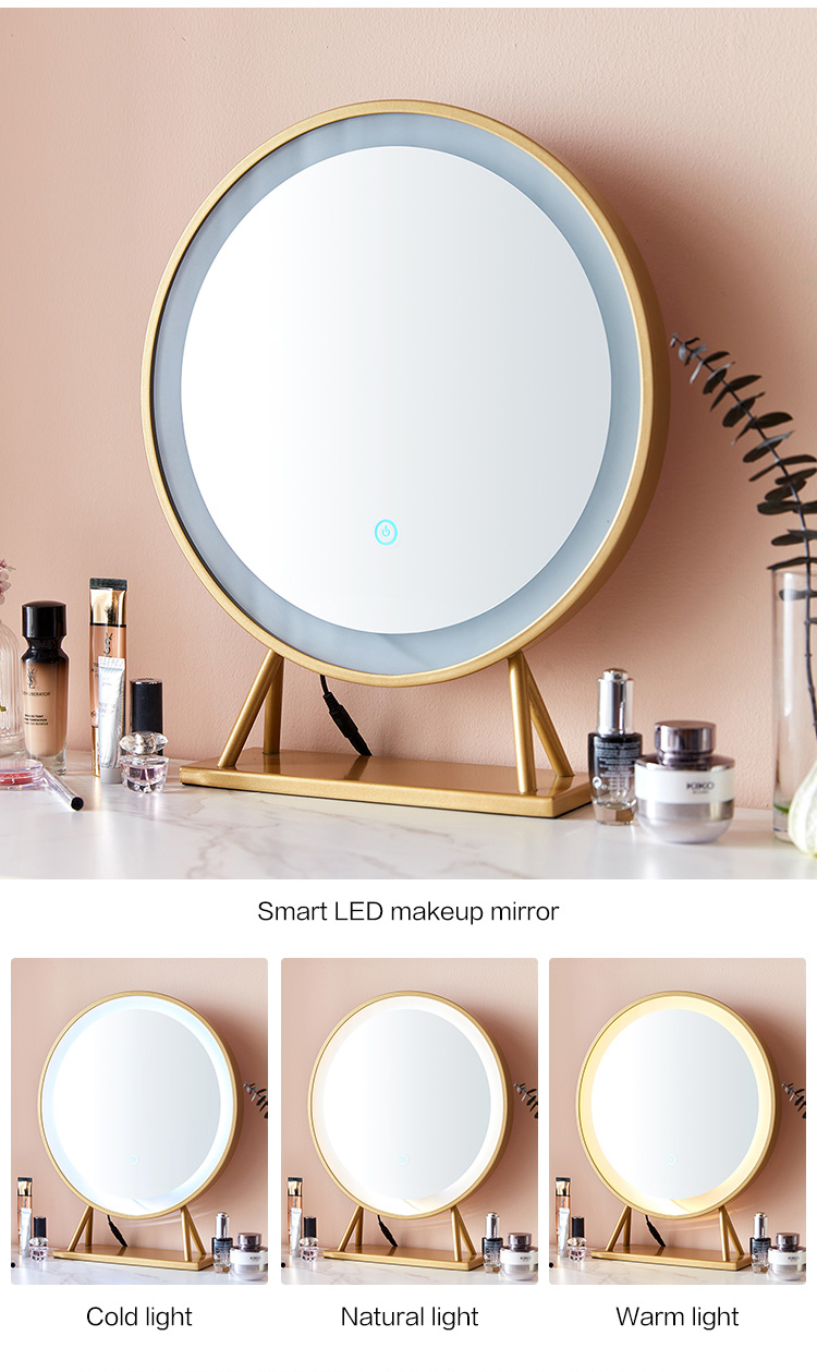 Linsy Modern Home Furniture Classic Professional Turkish Style Bedroom Velvet Dressing Makeup Table With Mirror LS172C1-A