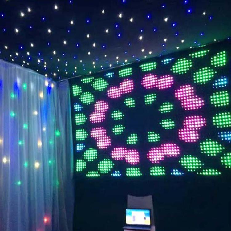flexible led curtain light images video display led curtain lighting buy led video display led light stage curtain led curtain product on
