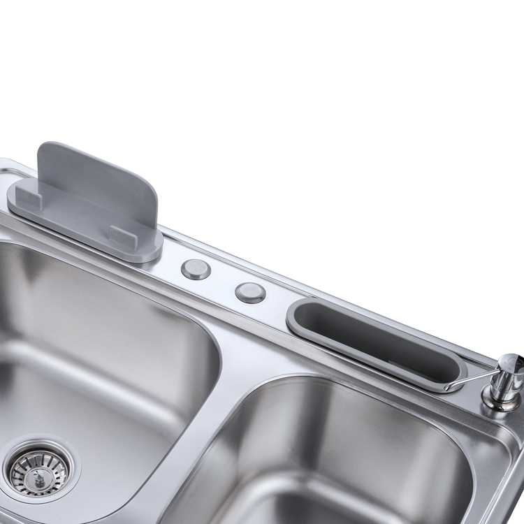 And because it's one of those countertop appliances. Wastafel Dapur Stainless Steel Pabrikan Cina Wastafel Dapur 202 Ss Mangkuk Ganda Buy Stainless Steel Sink Dapur Stainless Steel Wastafel Double Bowl Sink Product On Alibaba Com