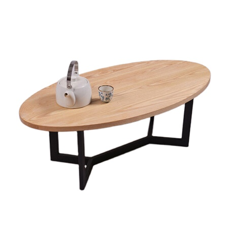 modern design living room sofa center table furniture home goods mdf coffee tables wood top oval coffee table buy coffee table mdf wood sofa center
