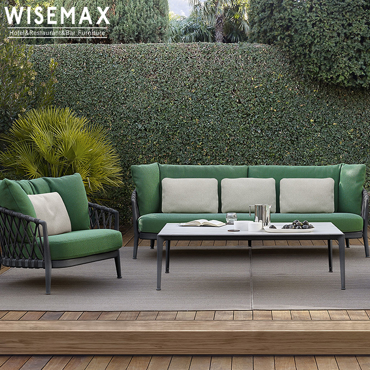 foshan manufacture outdoor sofa with waterproof cushion aluminum frame outdoor furniture hotel garden patio sofa set buy outdoor furniture garden
