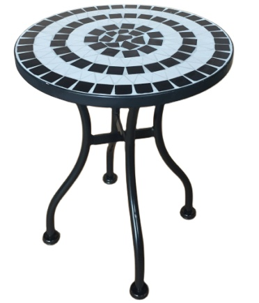wholesale round mosaic tile top flower plant stand for garden patio furniture buy mosaic ceramic plant stand ceramic tile patio furniture outdoor
