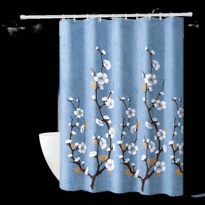 nordic style unique elegant folding shower curtain buy bathroom shower curtains unique shower curtains shower curtain fabric product on alibaba com