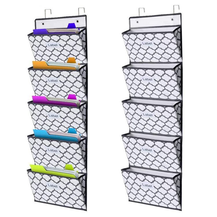 hang file organizer wall mounted hanging file folder holder mail organizers home office supplies storage bag hang file organizer buy hang file