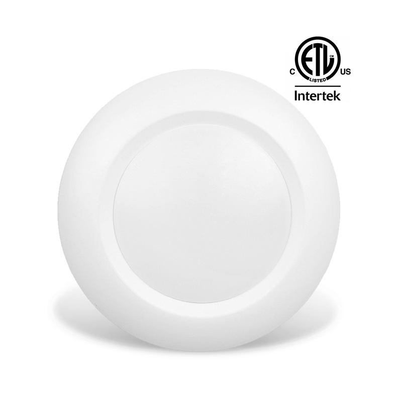 etl 6 led downlight flush mount ceiling light 15w retrofit led recessed lighting kit for 5 or 6 cans 100 watt equivalent buy 6 led ceiling light