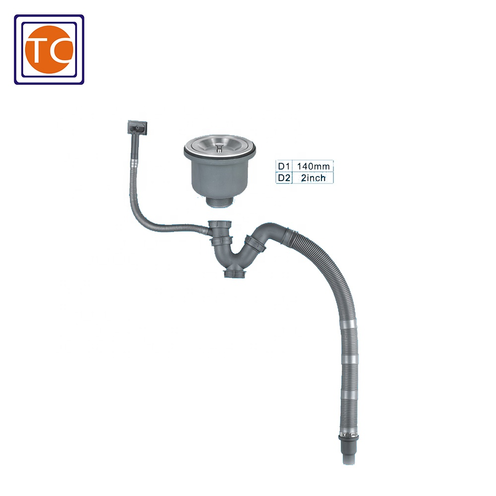 sink drain overflow pipe with 2 inch connection buy sink drain overflow overflow pipe sink drain product on alibaba com
