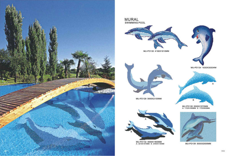 glass mosaic factory for dolphin swimming pool tile buy glass mosaic dolphin swimming pool tile dolphin swimming pool tile product on alibaba com
