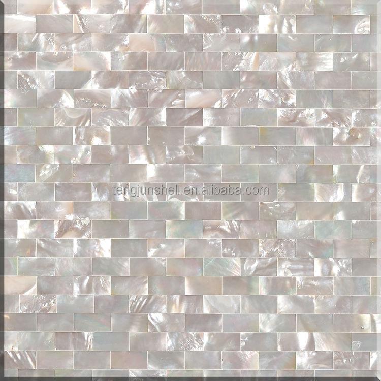 pure white seamless brick type shell mosaic tile pearl glass mosaic tile buy pearl glass mosaic tile mother of pearl shell mosaic tile pearl mosaic