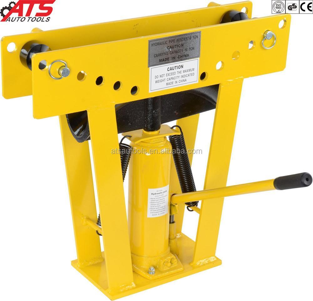 16 ton heavy duty hydraulic tube bender tubing metal steel iron exhaust pipe bending w 8 dies buy hydraulic pipe bender pipe bender tube bender
