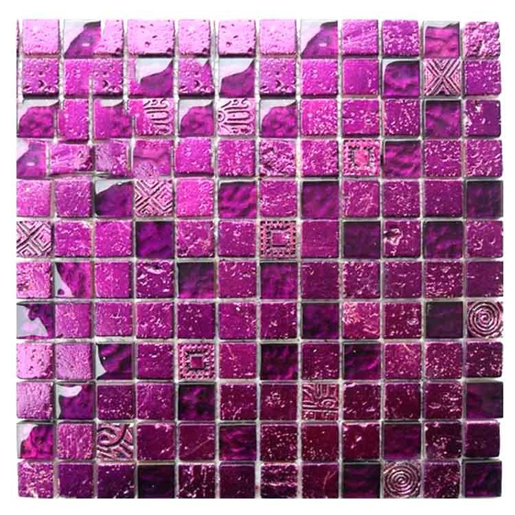 gold foil glass mosaic purple mosaic tile purple backsplash tiles mosaic kgs 3008 buy purple backsplash tiles mosaic purple mosaic tile gold foil