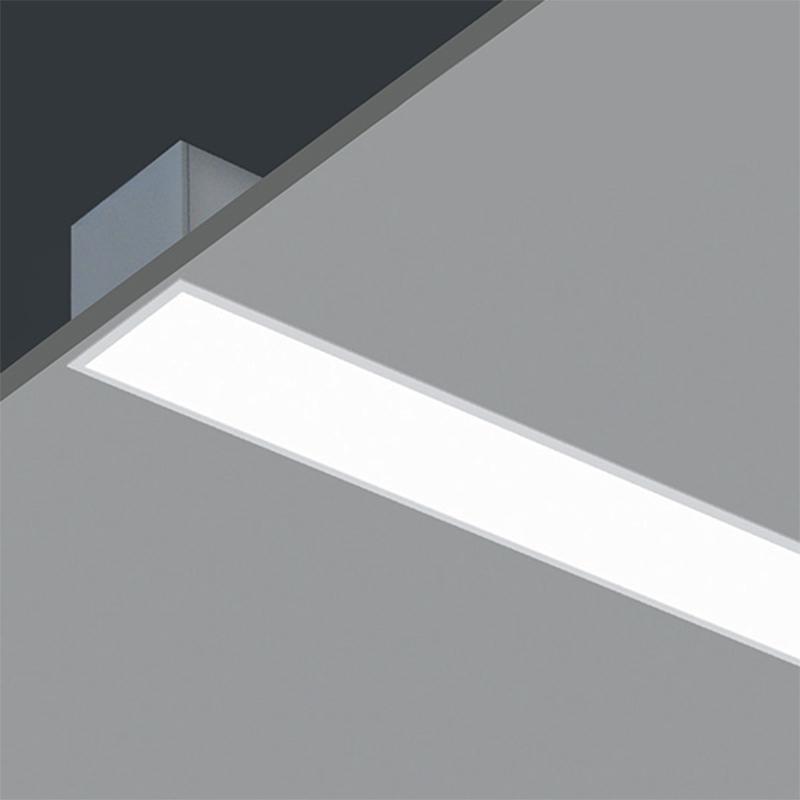 aluminum profile ceiling gypsum recessed linear light led embedded tube light buy recessed linear light ceiling gypsum linear light recessed light