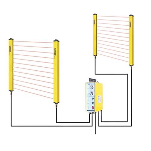 safety light curtain sensor for press machine buy infrared gating sensor punch protector light curtain sensor product on alibaba com