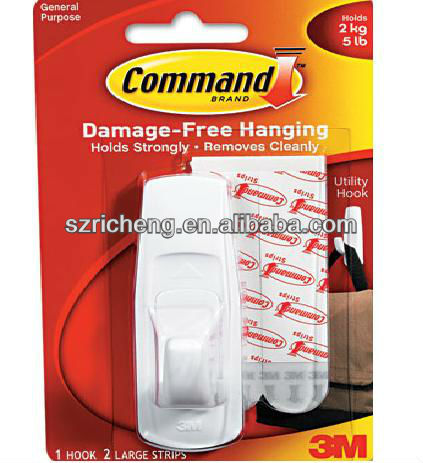 3m command removable adhesive utility wall stick hook 5 lb capacity plastic white 17003 buy wall stick hook wall hook curtain wall hook product on