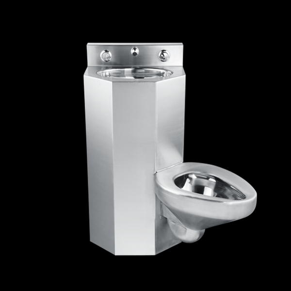chuangxing stainless steel toilet and sink unit combination prison cell toilet buy toilet sink combination toilet and sink unit prison cell toilet
