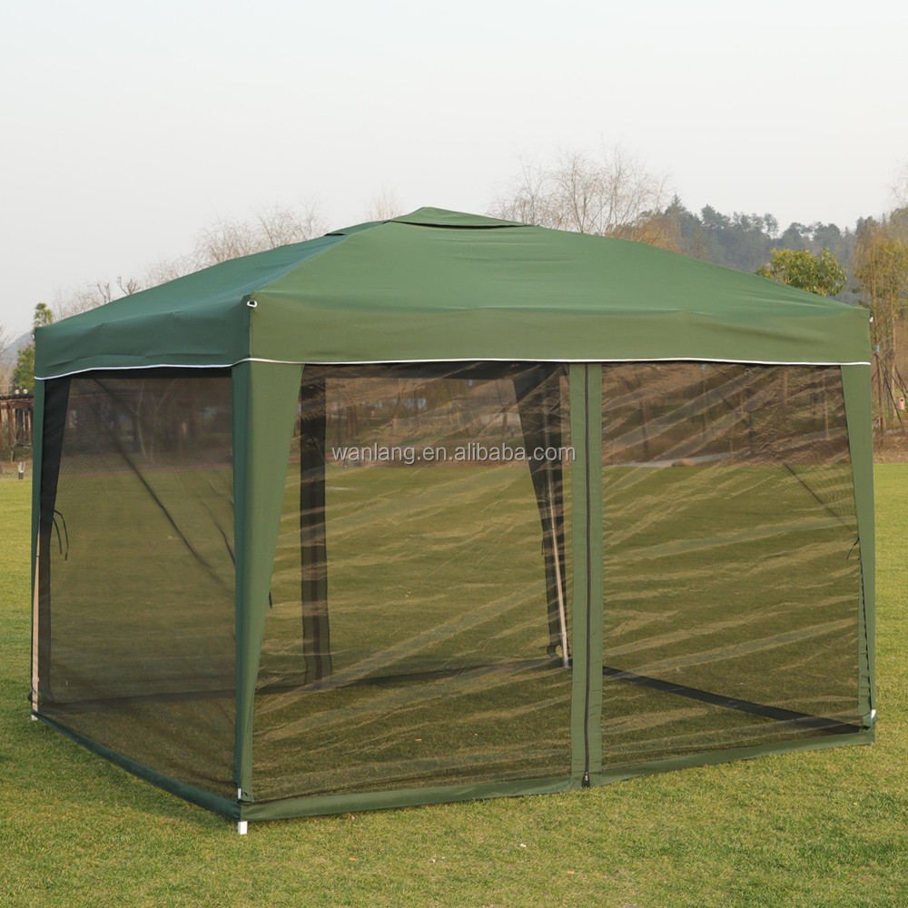 modern patio gazebo with mosquito netting screen walls for 10x10ft gazebo canopy buy patio gazebo with mosquito netting 10x10 ft canopy