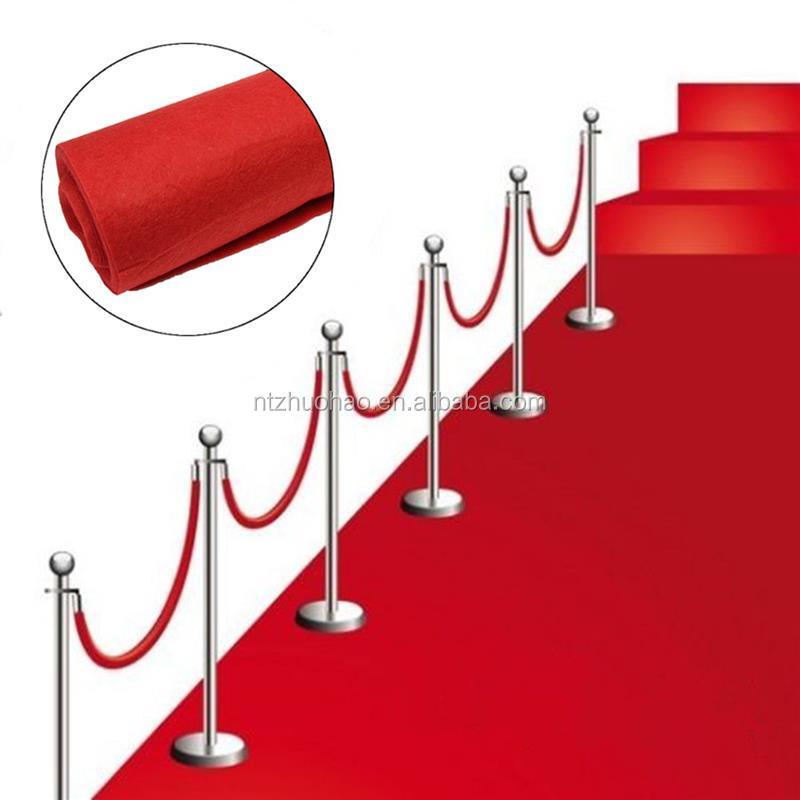 tapis de sol dans couloir de mariage de 14 cm grand tapis rouge en polyester decoration pour evenements de fete de mariage celebration d hollywood 10m 20m buy tapis rouge tapis de sol de mariage decoration de fete de