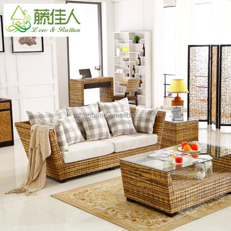 ensemble de meubles de salon en osier et rotin style decontracte vintage buy canape en rotin meubles d interieur en rotin meubles en rotin vintage
