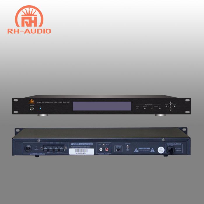 rh audio rack mount digital am fm tuner with lcd display and remote control buy am fm tuner fm tuner fm tuner module with display product on