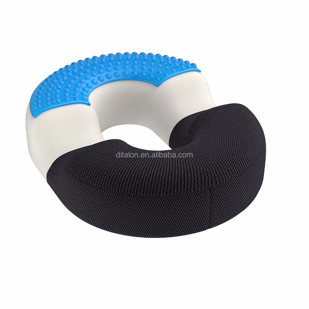 orthopaedic surgical ring donut pillow with gel cushion for relief of haemorrhoids and coccyx pain buy high quality donut pillow with gel