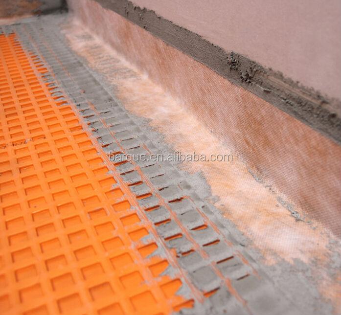 uncoupling membrane used for waterproof flooring underlayment underlay for ceramic floor tile heating floor underlay buy waterproof membrane for