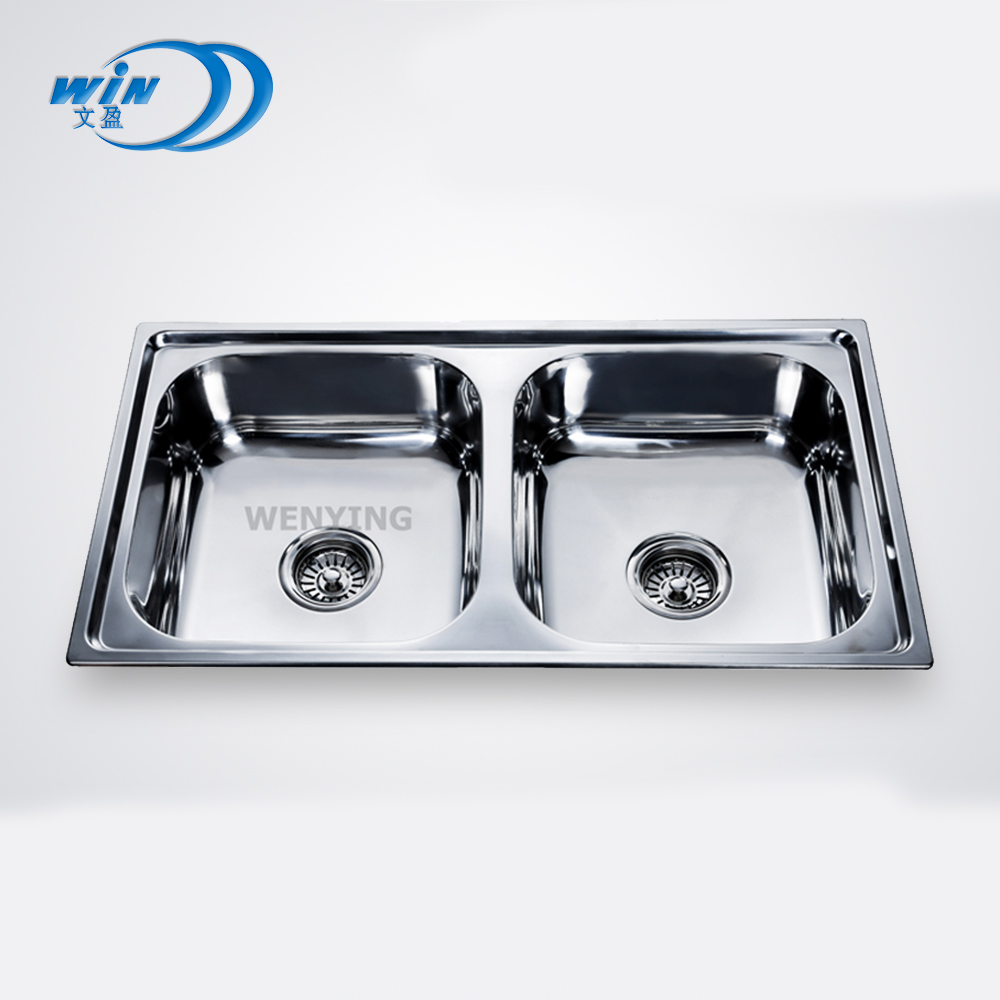 famous brand deep stainless steel kitchen sink with double bowl for sale buy best kitchen sink brand foshan kitchen sink dasen kitchen
