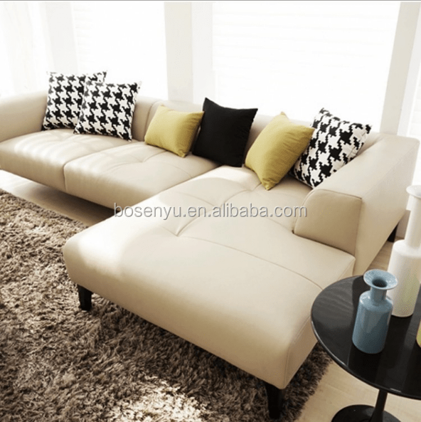 modern l shaped deep seating top grain leather sectional sofa buy modern l shape sofa deep seating sectional sofa top grain leather sofa product on