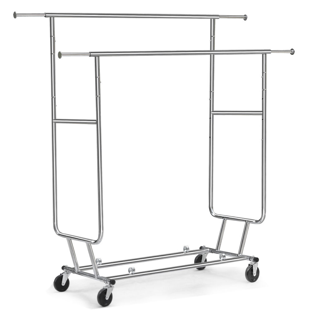 sale heavy duty rolling clothes rack
