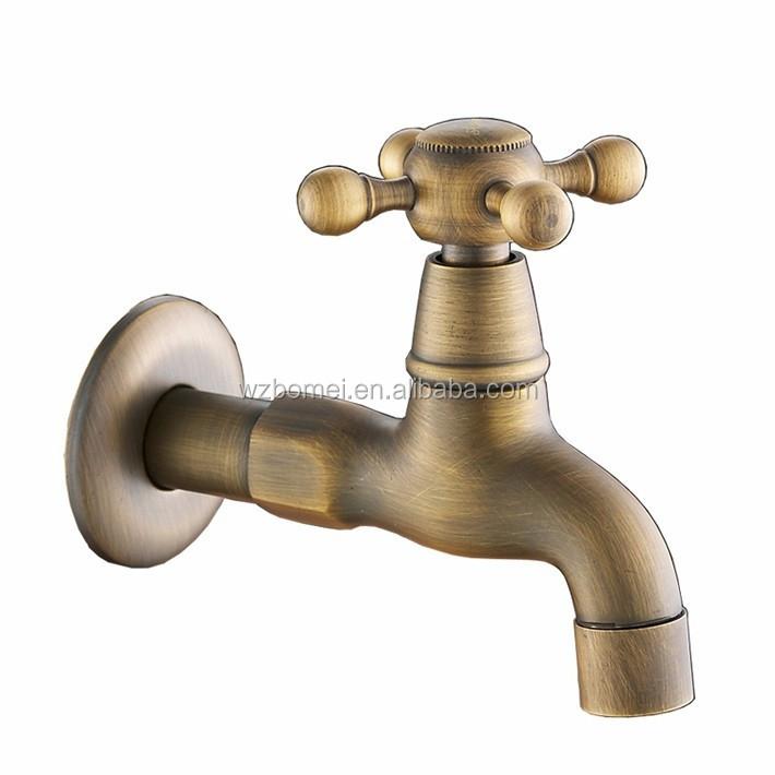 high quality antique brass bibcock outdoor faucet brass decorative garden tap washing machine water mixer tap buy washing machine water tap tap for