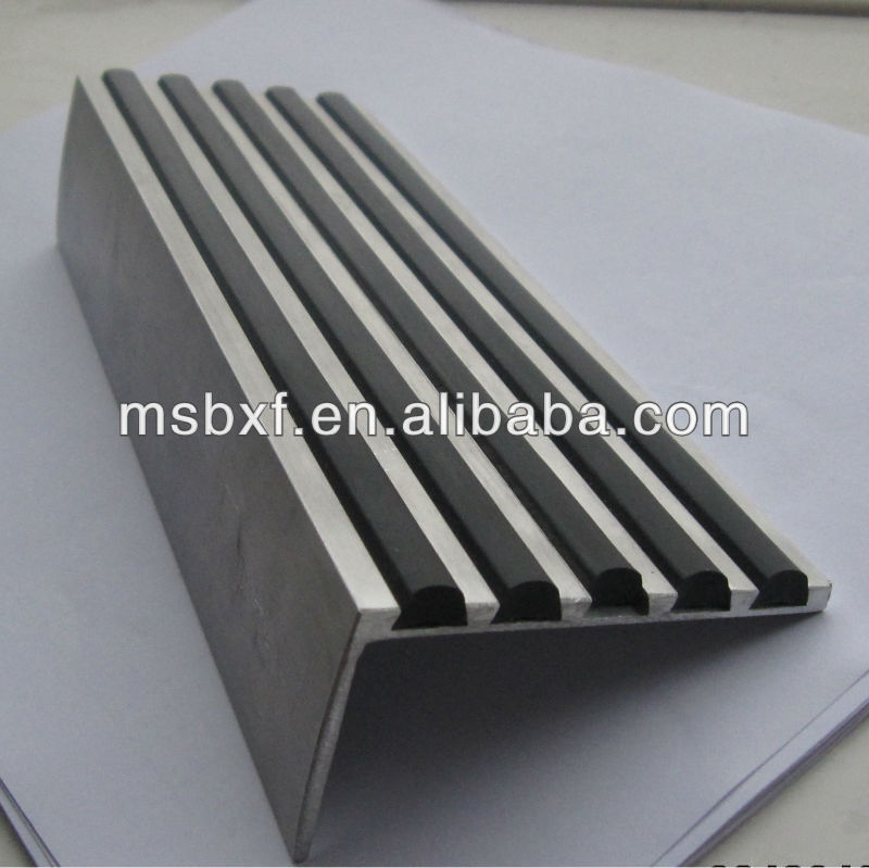 rubber stair nosing for stair edge protection buy rubber stair nosing for stair edge protection carborundum stair nosing stair nosing for ceramic