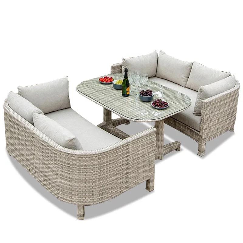outdoor patio furniture modern pe rattan wicker sleeper sofa buy outdoor patio furniture wicker sleeper sofa outdoor rattan sofa product on alibaba com