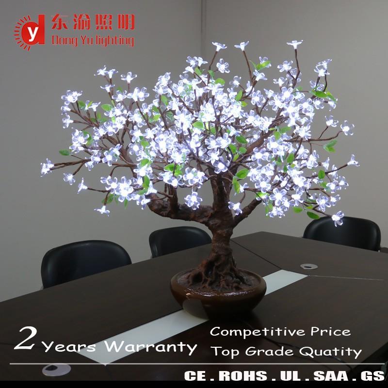 indoor hotel decoration led cherry blossom tree light ornamental bonsai tree with ceramic pot buy light up cherry trees lighted ceramic christmas