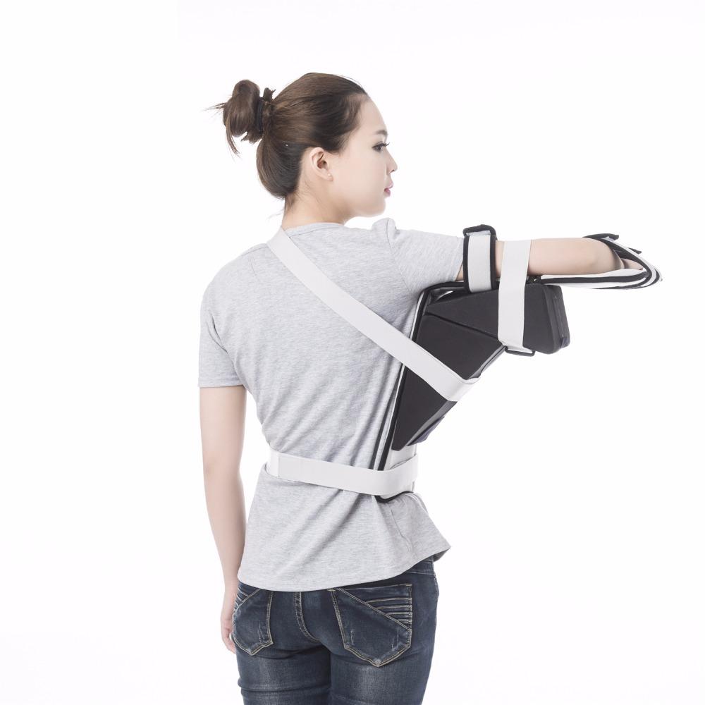 shoulder sling shoulder abduction pillow for injury support arm immobilizer for rotator cuff surgery broken arm brace buy shoulder brace shoulder