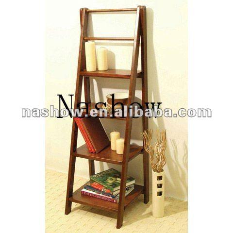 etagere d echelle economique en bois etagere decorative et multifonctionnelle buy etagere en bois etagere a echelle etagere en bois product on