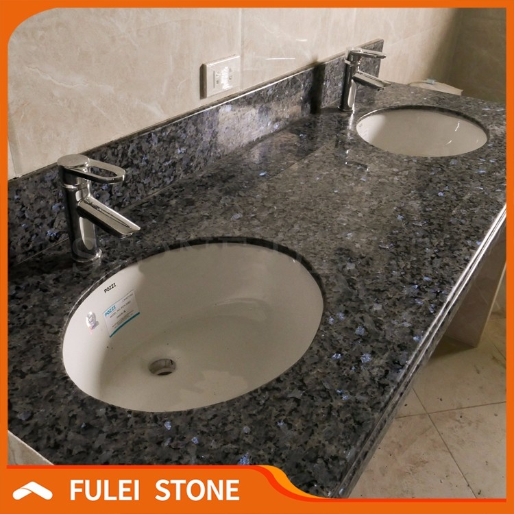lowes 72 inch bathroom double sink blue pearl granite vanity tops buy granite vanity top bathroom vanity top double sink granite vanity tops product