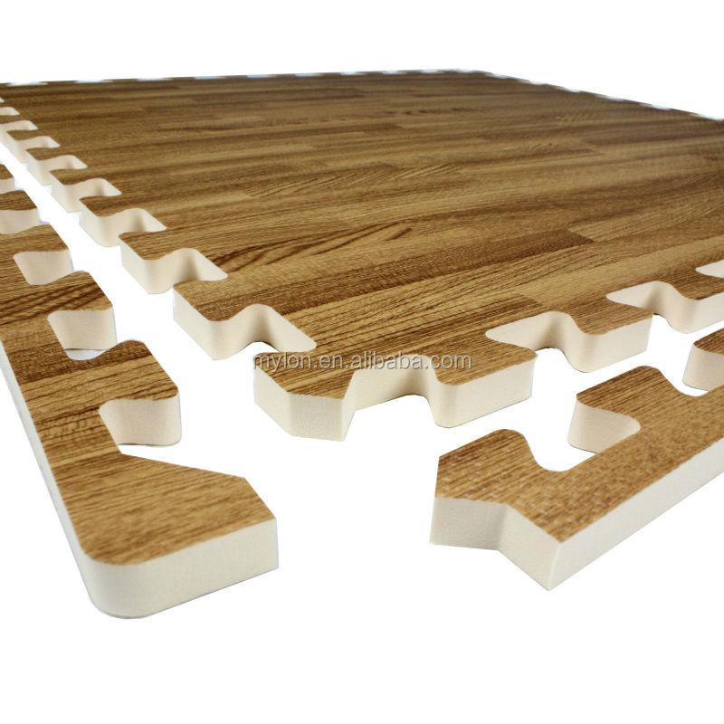 dark wood foam mats puzzle interlocking eva tiles flooring buy dark wood foam mats puzzle interlocking eva tiles flooring eva foam mat eva mat eva