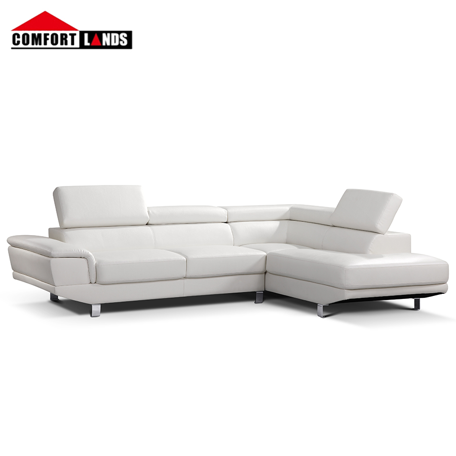 white leather corner sofa sectional with movable headrest buy white leather sectional white leather sofa leather corner sofa with movable headrest