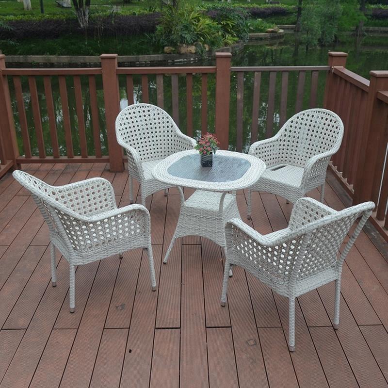 outdoor rattan wicker patio furniture 4 seater garden dining table chair sets sale buy garden table chair sale patio table and chair set rattan
