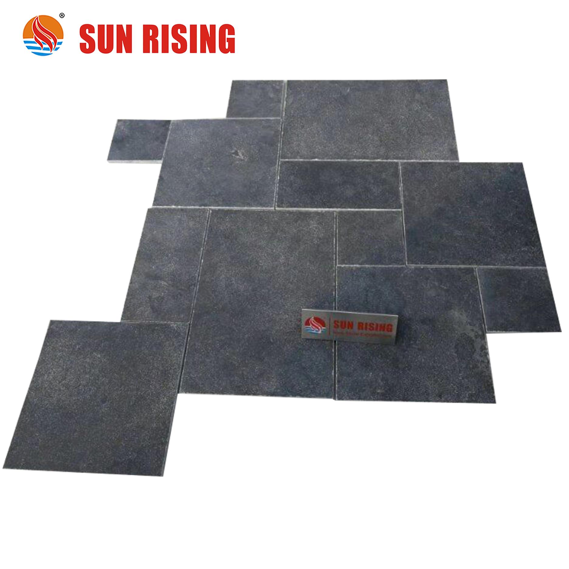 popular blue limestone floor tile bluestone french pattern for garden paving buy bluestone french pattern blue limestone floor tile bluestone garden
