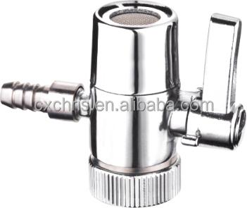faucet diverter valve 1 4 3 8 1 2 diverter valve for water filter two way diverter valve with switch buy ball valve for water filter faucet diverter