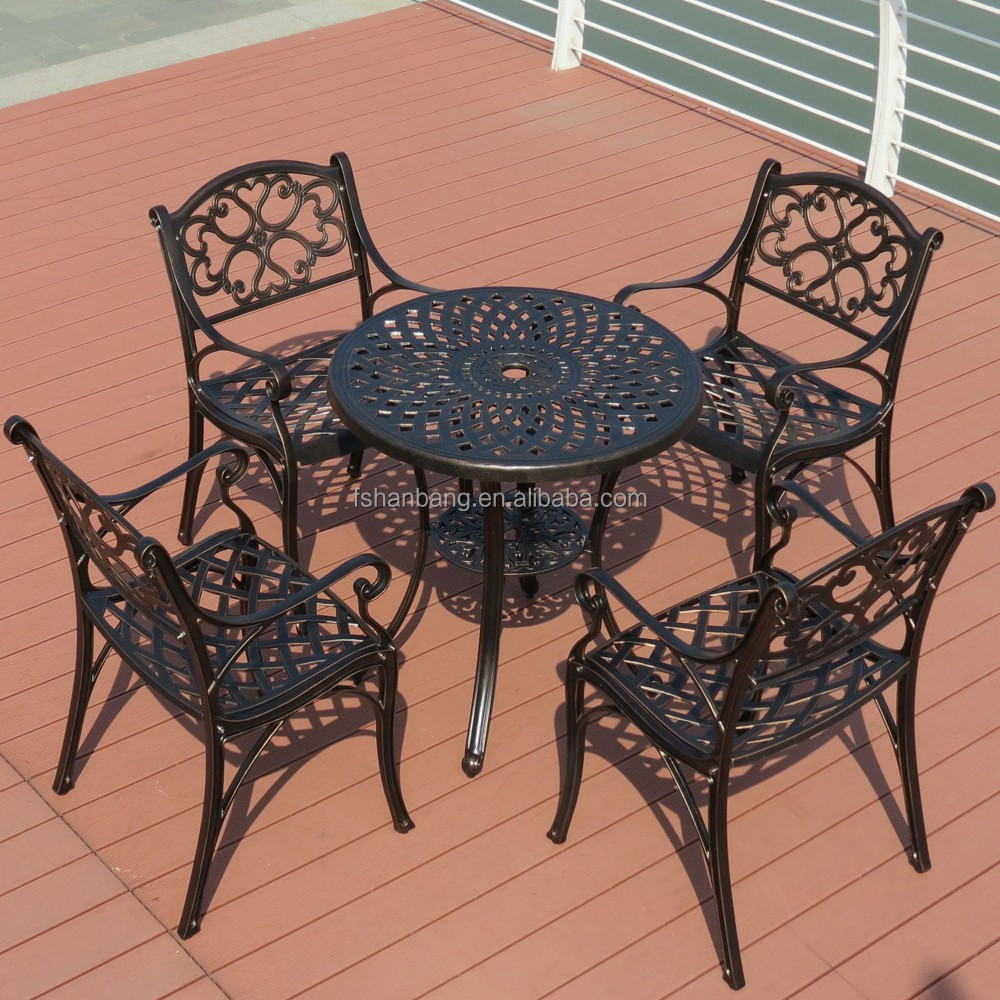 modern waterproof cast aluminum outdoor garden furniture view garden outdoor furniture love rattan product details from foshan hanbang furniture