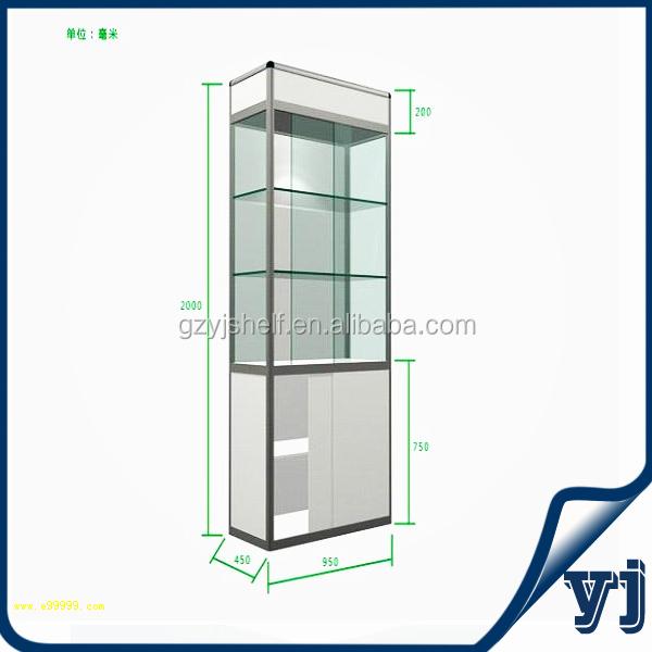 vitrine led a etagere en verre mini presentoir pour bijoux 1 piece buy mini display cabinet led strip light for glass shelf display cabinet and