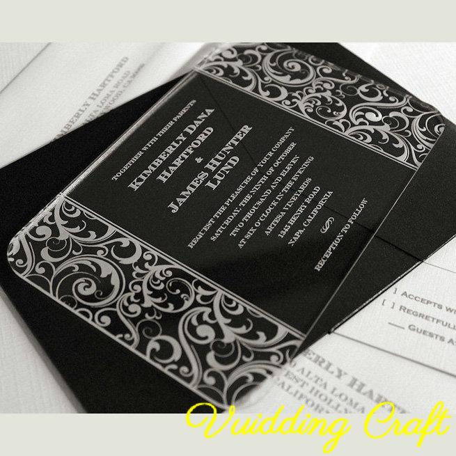 carte d invitation en plexi acrylique pour mariage buy invitation en plexi invitations de mariage elegantes invitations de mariage bon marche