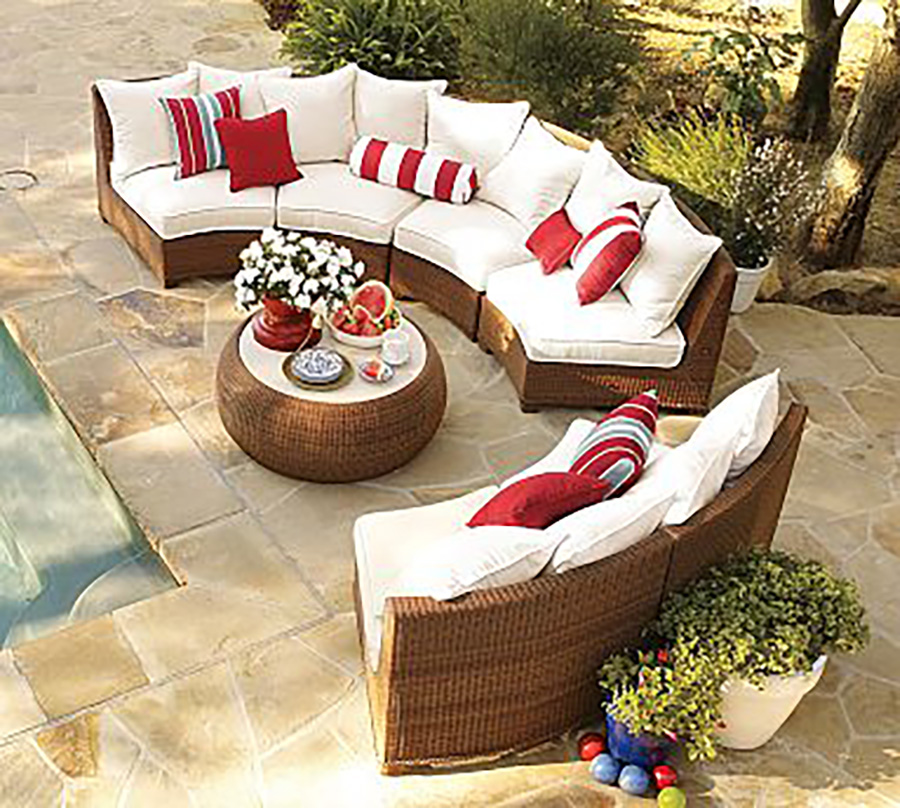 all weather round wicker acapulco chair sofa set semi circle patio furniture outdoor furniture tables sri lanka buy round sofa set round wicker