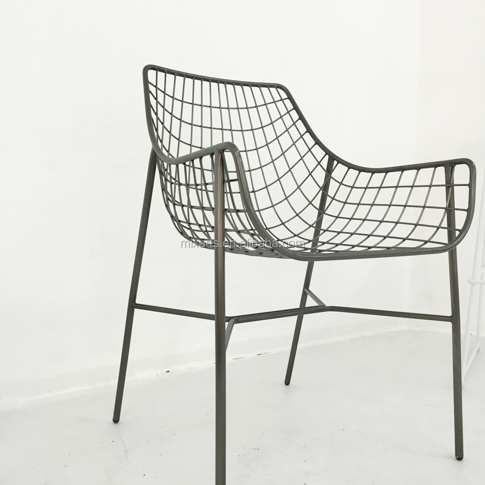 outdoor solid metal wire frame patio chair black outdoor patio furniture dining chair buy wire chair manufacturers high quality dining chair wire