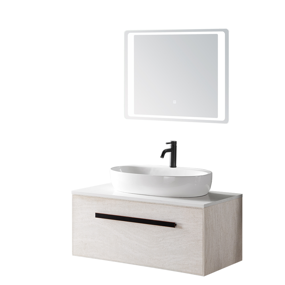 wall hung mounted cheap modern white quartz stone sink bathroom cabinet wooden vanity buy bathroom sink base cabinets antique vanity wood veneer