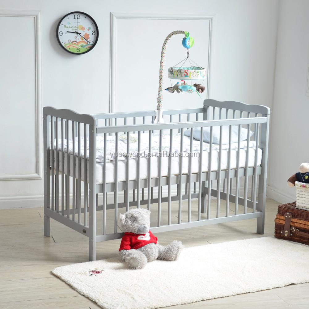 solid wood cot grey color wooden baby crib buy wooden crib baby crib crib price product on alibaba com