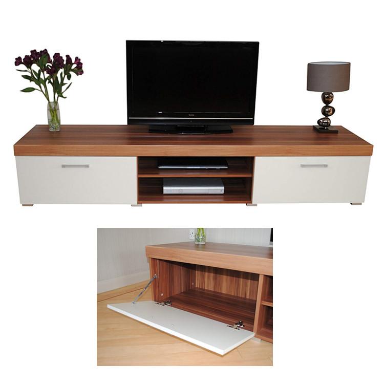 luli tsc009 very cheap modern walnut tv unit 200cm media cabinet 2 doors 2 shelf buy cheap tv cabinet home furniture 2 doors tv stand big unit 2