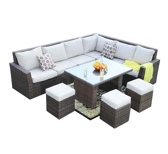 patio furniture outdoor sectional grey rattan garden corner sofas buy outdor furniture cheap corner sofa garden furniture product on alibaba com