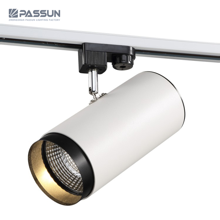 hot sale wholesale price dimmable 12w cob led track light view shop gallery led track lighting passun product details from zhongshan passun lighting factory on alibaba com